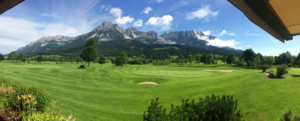 Wilder Kaiser Panorama - Golf Club Ellmau